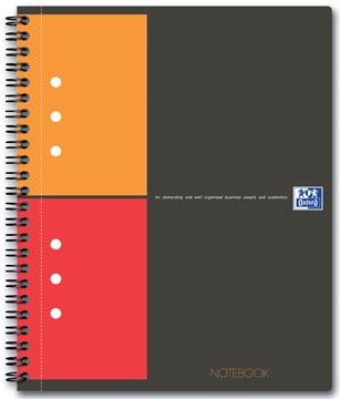 Oxford INTERNATIONAL Notebook Connect, avec pages à scanner, 160 pages, ft A5+, quadrillé 5 mm