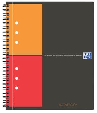 Oxford INTERNATIONAL activebook, 160 pages, ft A5+, quadrillé 5 mm