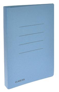 Class'ex chemise à glissière bleu, ft 18,2 x 23 cm (pour ft cahier)
