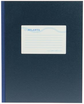 Atlanta by Jalema registre quarto large 128 pages, bleu