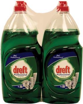 Dreft produit pour la vaisselle classic 1L, paquet de 2 pièces