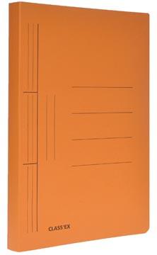 Class'ex chemise à glissière, ft 25 x 32 cm (pour ft A4), orange