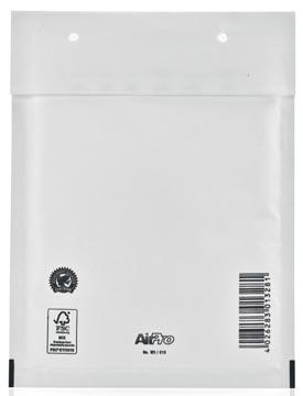 Bong AirPro enveloppes à bulles d'air, ft 150 x 215 mm, avec bande adhésive, boîte de 100 pièces, blanc