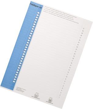 Elba onglets type 9, feuille de 31 étiquettes, bleu