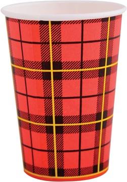Gobelet en carton, 180 ml, diamètre 70,9 mm, paquet de 100 pièces