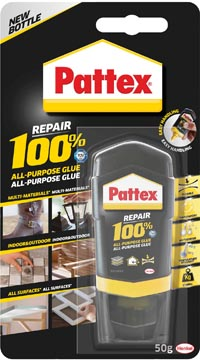 Pattex colle 100%, tube de 50 g, sous blister