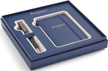 Waterman boîte cadeau Expert stylo bille medium + carnet, noir