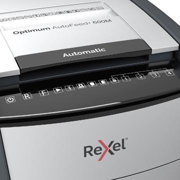 Rexel Optimum Auto+ 600M destructeur de documents