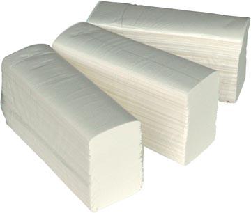 Europroducts essuie-mains en papier, multifold, 2 plis, paquet de 150 feuilles