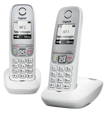 Gigaset A415 téléphone DECT sans fil, avec combiné supplémentaire, blanc