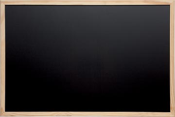 Maul tableau à craie avec cadre en bois, ft 40 x 60 cm