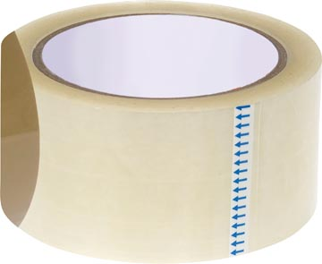STAR ruban adhésif d'emballage, ft 50 mm x 66 m, transparent