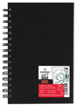 Canson bloc de croquis 'Art book One' 80 feuilles 14 x 21,6 cm