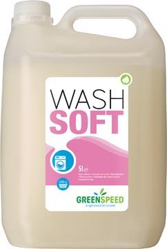 Greenspeed adoucissant Wash Soft, 166 doses, flacon de 5 litres