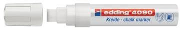 Edding Marqueur craie, e-4090, blanc
