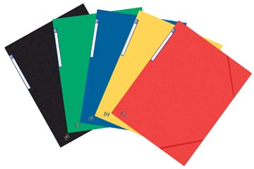 Elba Oxford Top File+ farde à rabats, pour ft A3, couleurs assorties