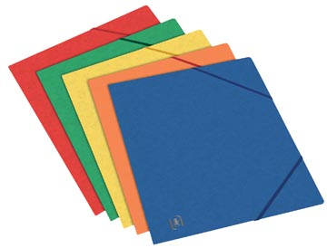 Elba Oxford Top File+ farde à rabats, pour ft A5, couleurs assorties
