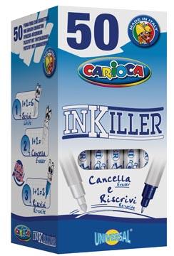 Carioca effaceur Inkiller, avec deux pointes