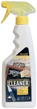 Securit spray nettoyant pour des ardoises et tableaux en verre, flacon de 500 ml