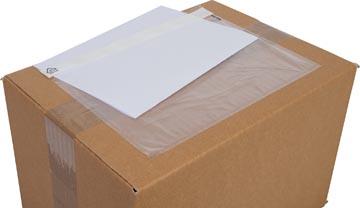 Cleverpack pochette documents, non-imprimé, ft 230 x 157 mm, paquet de 100 pièces