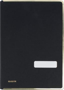 Class'ex signataire noir, avec bord de protection métallique