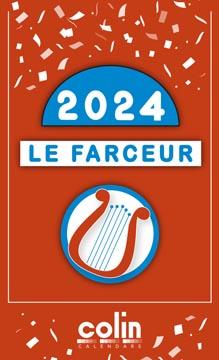 Bloc éphéméride Le Farceur François Pirette 2022