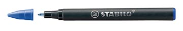 STABILO recharge roller EASYoriginal, medium, 0,5mm, boîte de 3 pièces, bleu