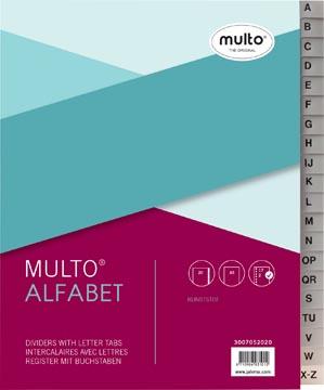 Multo intercalaires en plastique, pour ft A5, 17 trous, couleurs assorties