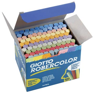 Giotto craie Robercolor, couleurs assorties