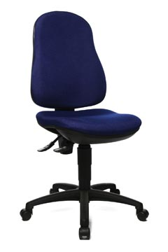 Topstar chaise de bureau Point 70, bleu