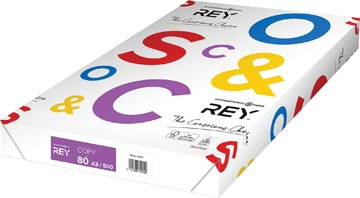 Rey Copy papier d'impression ft A3, 80 g, paquet de 500 feuilles