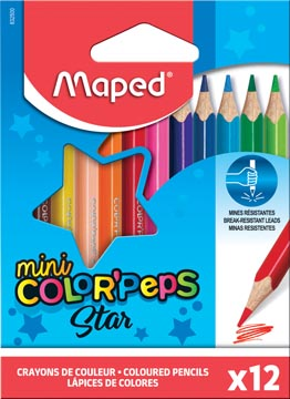 Maped crayon couleur triangulaire Color'Peps Mini