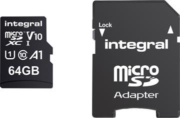 Integral carte mémoire microSDXC, 64 Go