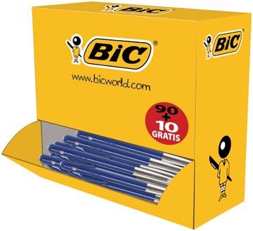 Bic stylo bille M10 Clic, bleu, offre spéciale