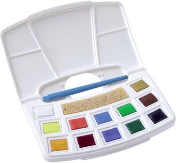 Talens Art Creation aquarelle pocketbox 12 godets