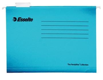 Esselte dossiers suspendus pour tiroirs Classic ft folio, entraxe 365 mm, bleu