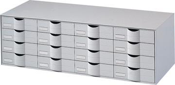 Paperflow bloc à tiroirs, 16 tiroirs, largeur 107,6 cm
