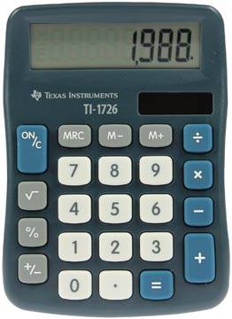 Texas calculatrice de bureau TI-1726