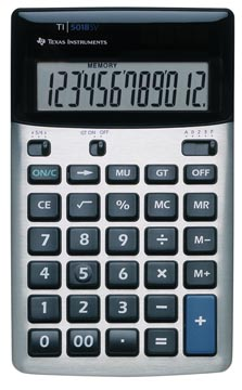 Texas calculatrice de bureau TI-5018 SV