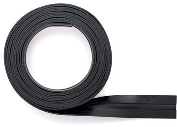 Durable Durafix barre magnétique adhésive sur rouleau, 5 m, noir