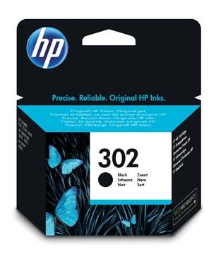 HP cartouche d'encre 302, 190 pages, OEM F6U66AE, noir