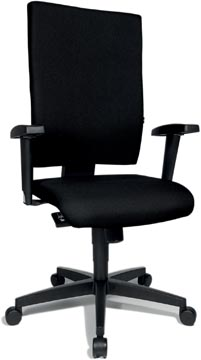 Topstar chaise de bureau Light Star 20, noir