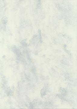 Decadry papier à structure marbré gris-vert, 165 g, paquet de 50 feuilles