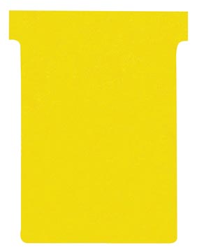 Nobo fiches T indice 3, ft 120 x 92 mm, jaune
