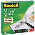 Scotch ruban adhésif Magic Tape ft 25 mm x 66 m