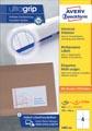 Avery Zweckform 3483-2, étiquettes universelles, Ultragrip, blanc, 200 feuilles, ft 105 x 148 mm