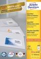 Avery Zweckform 3659, étiquettes universelles, Ultragrip, blanc, 100 feuilles, 97 x 42,3 mm