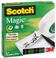 Scotch ruban adhésif Magic Tape, ft 12 mm x 33 m