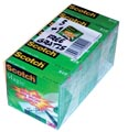 Scotch ruban adhésif Magic Tape, ft 19 mm x 33 m, paquet de 6 rouleaux