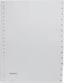 Pergamy intercalaires, ft A4, perforation 23 trous, PP gris, set 1-15